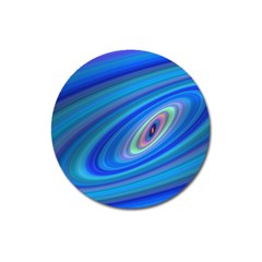 Oval Ellipse Fractal Galaxy Magnet 3  (round) by Nexatart