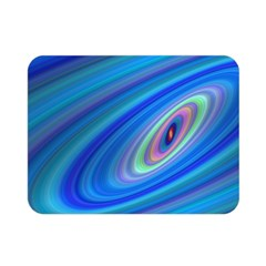 Oval Ellipse Fractal Galaxy Double Sided Flano Blanket (mini)