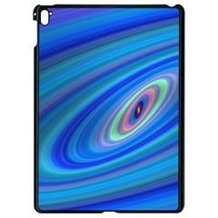 Oval Ellipse Fractal Galaxy Apple Ipad Pro 9 7   Black Seamless Case