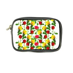 Rose Pattern Roses Background Image Coin Purse