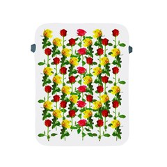 Rose Pattern Roses Background Image Apple Ipad 2/3/4 Protective Soft Cases