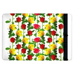 Rose Pattern Roses Background Image Ipad Air Flip