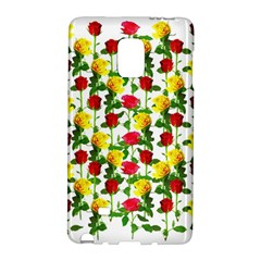 Rose Pattern Roses Background Image Galaxy Note Edge by Nexatart