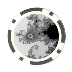 Apple Males Mandelbrot Abstract Poker Chip Card Guard (10 Pack) by Nexatart