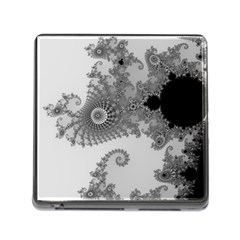 Apple Males Mandelbrot Abstract Memory Card Reader (square)