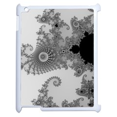 Apple Males Mandelbrot Abstract Apple Ipad 2 Case (white) by Nexatart
