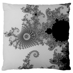 Apple Males Mandelbrot Abstract Large Flano Cushion Case (two Sides) by Nexatart