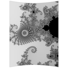 Apple Males Mandelbrot Abstract Back Support Cushion by Nexatart