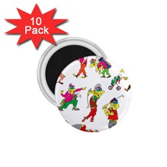 Golfers Athletes 1 75  Magnets (10 Pack)  by Nexatart