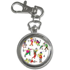 Golfers Athletes Key Chain Watches by Nexatart