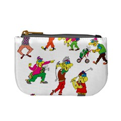 Golfers Athletes Mini Coin Purses
