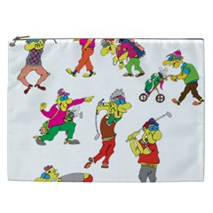 Golfers Athletes Cosmetic Bag (xxl)  by Nexatart