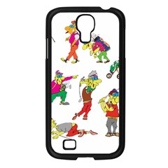 Golfers Athletes Samsung Galaxy S4 I9500/ I9505 Case (black) by Nexatart