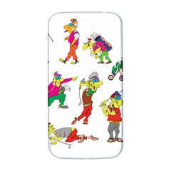 Golfers Athletes Samsung Galaxy S4 I9500/i9505  Hardshell Back Case by Nexatart