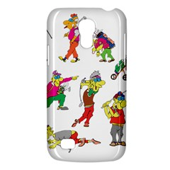 Golfers Athletes Galaxy S4 Mini by Nexatart