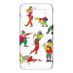 Golfers Athletes Galaxy S6 by Nexatart