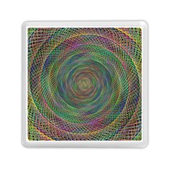 Spiral Spin Background Artwork Memory Card Reader (square)