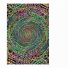 Spiral Spin Background Artwork Small Garden Flag (two Sides) by Nexatart