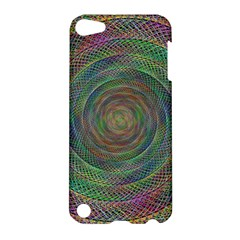 Spiral Spin Background Artwork Apple Ipod Touch 5 Hardshell Case