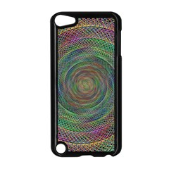 Spiral Spin Background Artwork Apple Ipod Touch 5 Case (black) by Nexatart