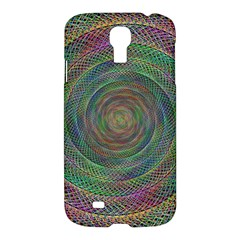 Spiral Spin Background Artwork Samsung Galaxy S4 I9500/i9505 Hardshell Case by Nexatart