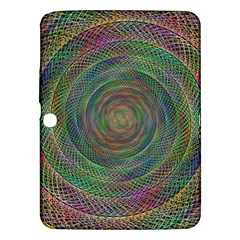 Spiral Spin Background Artwork Samsung Galaxy Tab 3 (10 1 ) P5200 Hardshell Case  by Nexatart