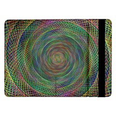 Spiral Spin Background Artwork Samsung Galaxy Tab Pro 12 2  Flip Case by Nexatart