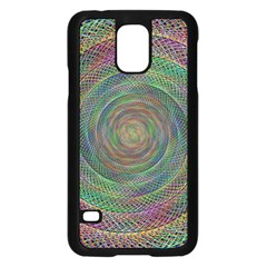 Spiral Spin Background Artwork Samsung Galaxy S5 Case (black) by Nexatart