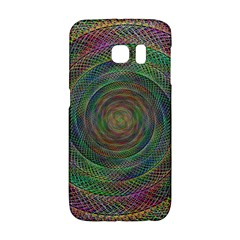 Spiral Spin Background Artwork Galaxy S6 Edge by Nexatart