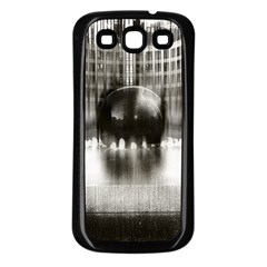 Black And White Hdr Spreebogen Samsung Galaxy S3 Back Case (black) by Nexatart
