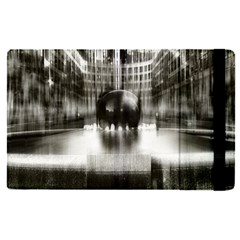 Black And White Hdr Spreebogen Apple Ipad Pro 9 7   Flip Case by Nexatart