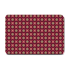 Kaleidoscope Seamless Pattern Small Doormat  by Nexatart
