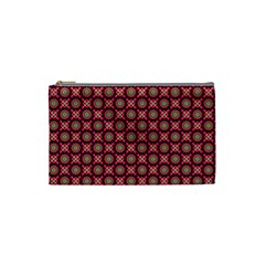 Kaleidoscope Seamless Pattern Cosmetic Bag (small)