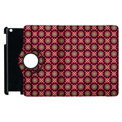 Kaleidoscope Seamless Pattern Apple Ipad 2 Flip 360 Case