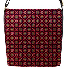 Kaleidoscope Seamless Pattern Flap Messenger Bag (s) by Nexatart
