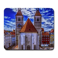 Steeple Church Building Sky Great Large Mousepads by Nexatart
