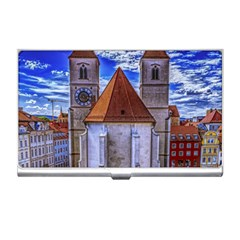 Steeple Church Building Sky Great Business Card Holders by Nexatart