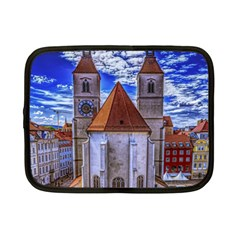 Steeple Church Building Sky Great Netbook Case (small)  by Nexatart