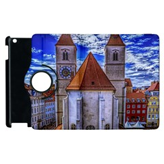 Steeple Church Building Sky Great Apple Ipad 2 Flip 360 Case by Nexatart