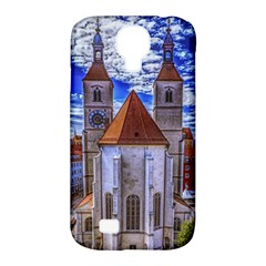 Steeple Church Building Sky Great Samsung Galaxy S4 Classic Hardshell Case (pc+silicone)