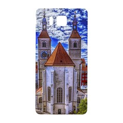 Steeple Church Building Sky Great Samsung Galaxy Alpha Hardshell Back Case by Nexatart