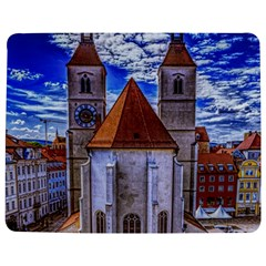 Steeple Church Building Sky Great Jigsaw Puzzle Photo Stand (rectangular)