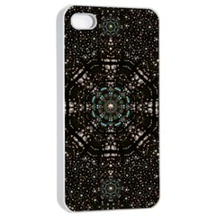Pearl Stars On A Wonderful Sky Of Star Constellations Apple Iphone 4/4s Seamless Case (white) by pepitasart