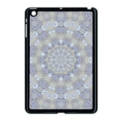 Flower Lace In Decorative Style Apple Ipad Mini Case (black) by pepitasart