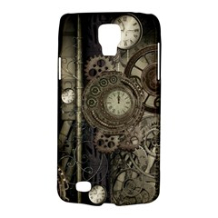 Stemapunk Design With Clocks And Gears Galaxy S4 Active by FantasyWorld7