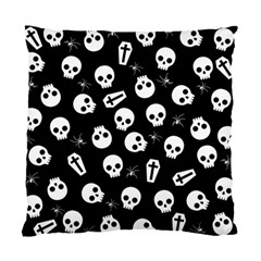 Skull, Spider And Chest    Halloween Pattern Standard Cushion Case (two Sides)