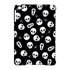 Skull, Spider And Chest    Halloween Pattern Apple Ipad Mini Hardshell Case (compatible With Smart Cover) by Valentinaart
