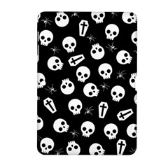 Skull, Spider And Chest    Halloween Pattern Samsung Galaxy Tab 2 (10 1 ) P5100 Hardshell Case