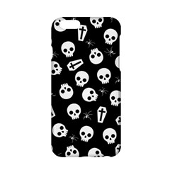 Skull, Spider And Chest    Halloween Pattern Apple Iphone 6/6s Hardshell Case by Valentinaart