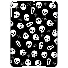 Skull, Spider And Chest    Halloween Pattern Apple Ipad Pro 9 7   Hardshell Case by Valentinaart